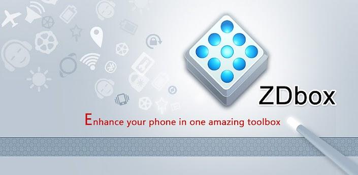 """ZDbox (All-In-One toolbox) v3.7.230, La Mejor Aplicación de """"Todo En Uno"""" [Android]"""