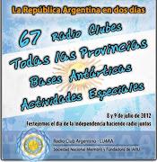 . atribuidas al Servicio de Radioaficionados en la República Argentina. la ra en dos dias