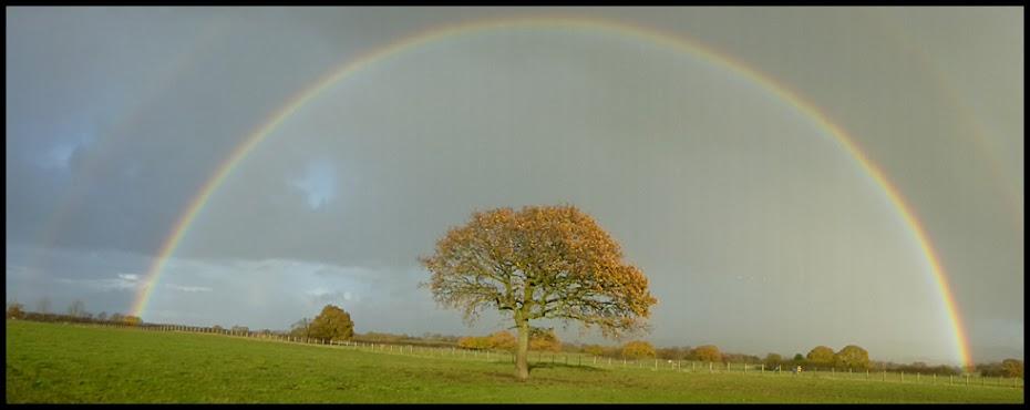 Rainbow in Lancashire
