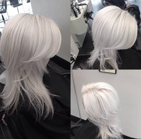 Astonishing White Hairstyles The Haircut Web