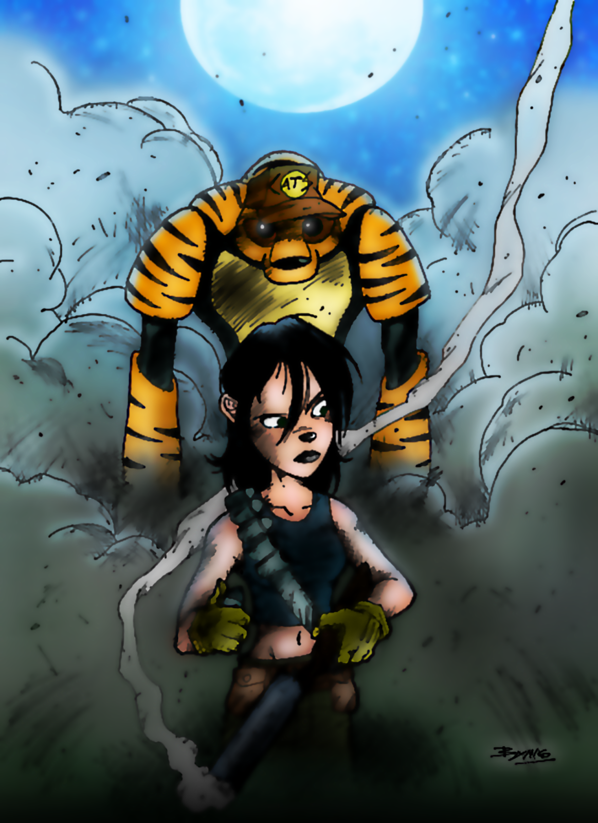 The Last Hunt (Coloring)