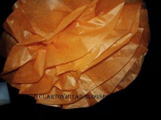 manualidades-flores de papel de seda