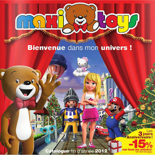 le blog des produits 100 rembours s maxitoys no l 2012 catalogue interactif des jouets de. Black Bedroom Furniture Sets. Home Design Ideas