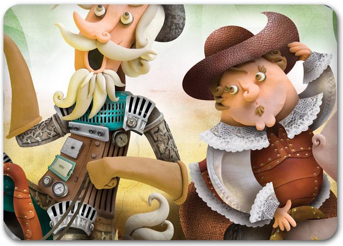 23 De Abril   D  A Del Libro   Espa  A  Homenaje A Don Quijote Y