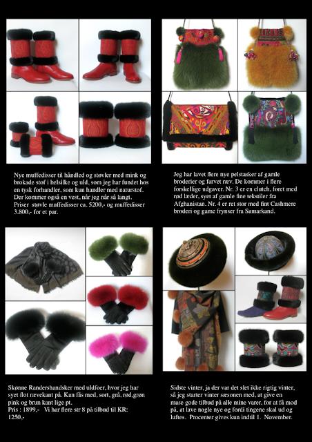muffedisser, håndledsvarmer, pelstasker, handsker, handsker med pels, læder handsker, pelshatte, hatte, uldsjaler, uldtørklæder, jane eberlein, samarkand