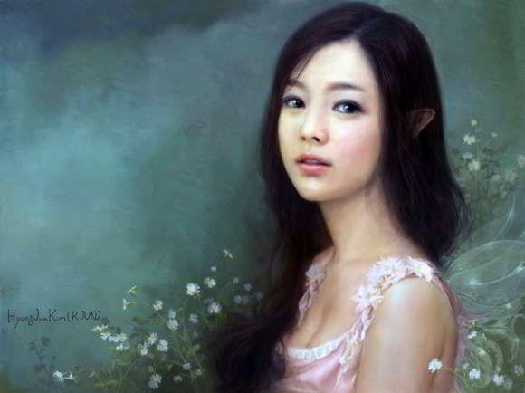 Karya Digital Art Painting Kim Hyung Jun