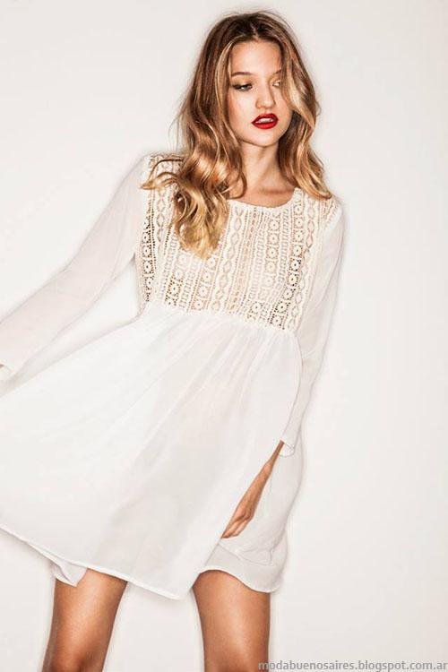 Vestidos cortos Bernarda Bernardita invierno 2015 moda.