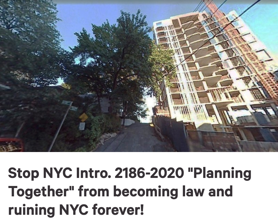 Halt the upzoning of NYC