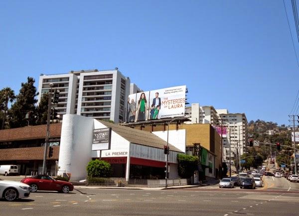 Mysteries of Laura billboard