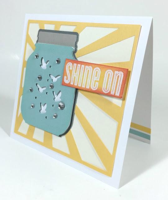 Cricut Firefly card