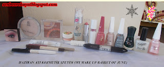 BASKET FOR MAKE UP