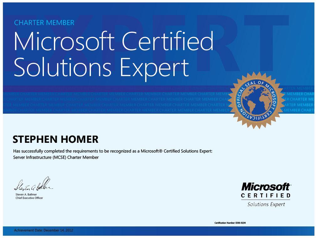 Microsoft Reloaded Microsoft Certification Mcse Is Back