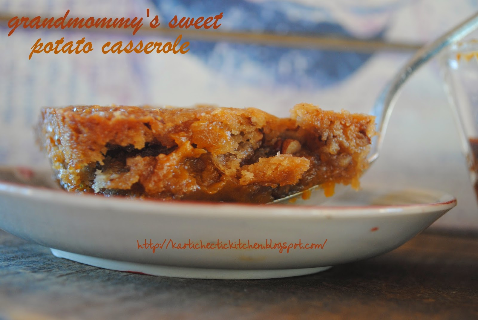 Recipe roulette grandmommys sweet potato casserole forumfinder Image collections
