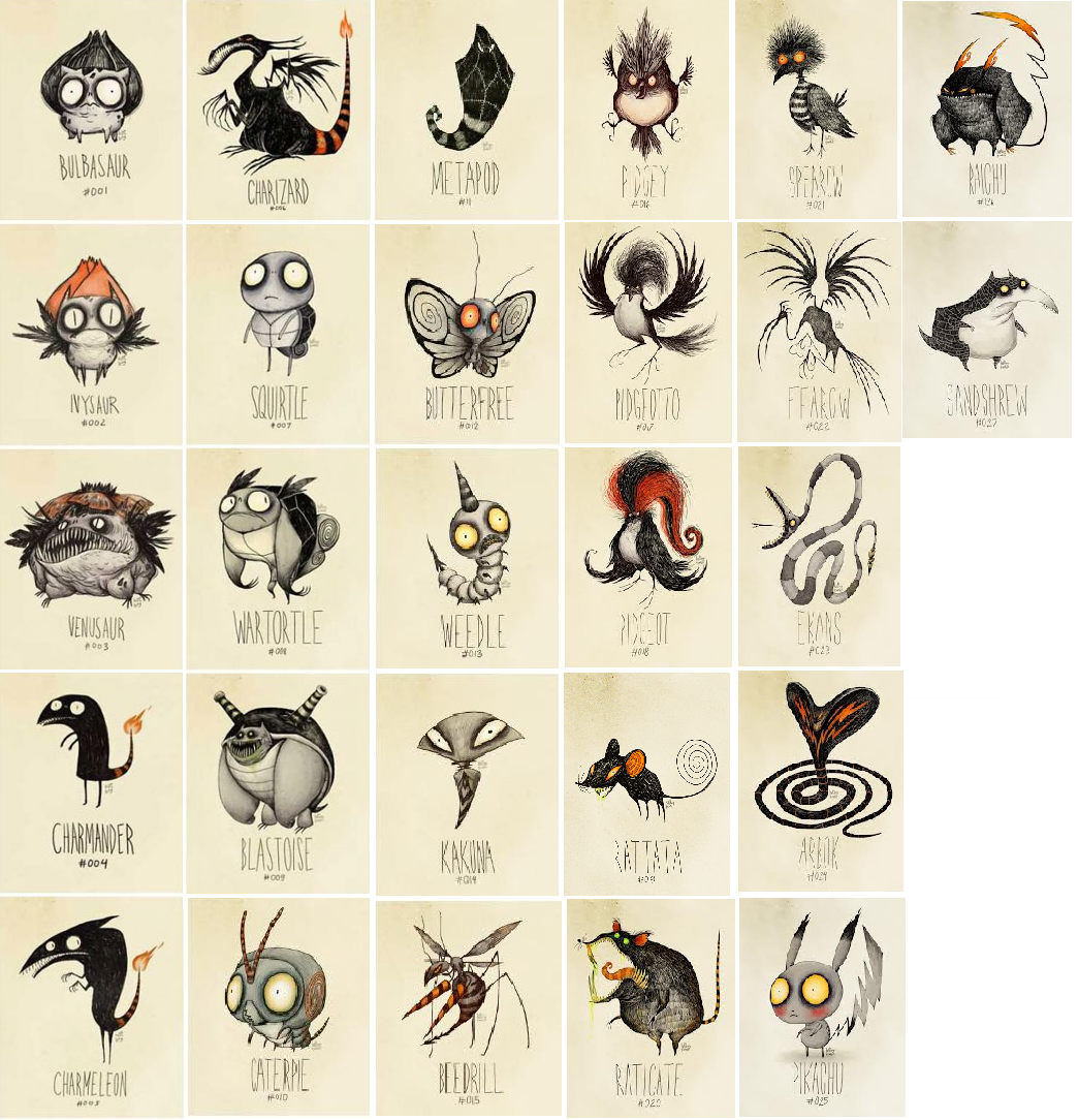 foto de Super Andreu's Blog: Pokémon de Tim Burton