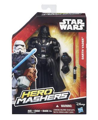 TOYS : JUGUETES - STAR WARS : Hero Mashers  Darth Vader | Figura - Muñeco   Producto Oficial Película Disney 2015 | Hasbro B3657 | A partir de 4 años Comprar en Amazon España & buy Amazon USA