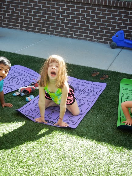 Practice Yoga Poses That Have To Do With Summer And Nature Sunflower Pose As A Group Is Great One All The Kids Sit Down Their Legs Out In