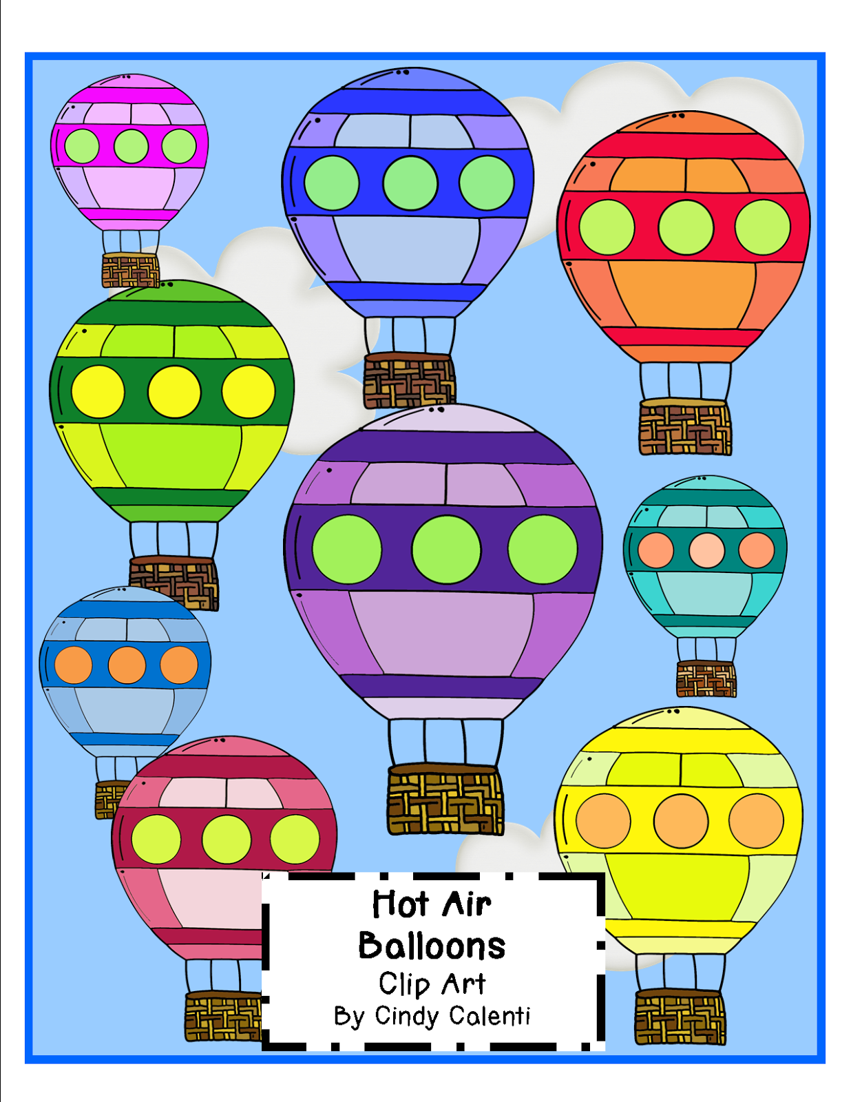 http://www.teacherspayteachers.com/Product/Hot-Air-Balloons-Clip-Art-1399889