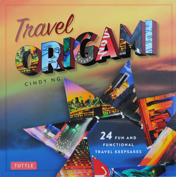 A review of Travel Origami by Cindy Ng, a book with fun and functional projects to fold