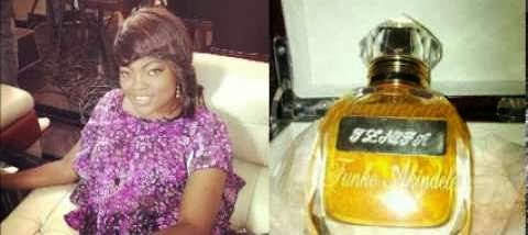 Funke Akindele Says she is Not Aware of Jennifa Perfume.