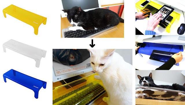Felinos no protetor de teclado antigato, NekoPochi