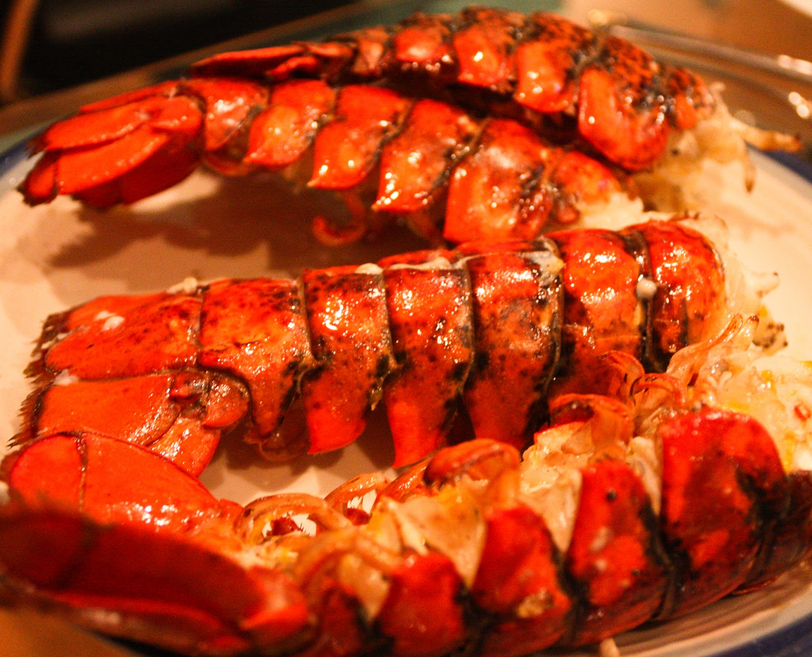 ... Oenophile: Grilled Lobster Tails with Meyer Lemon Vinaigrette