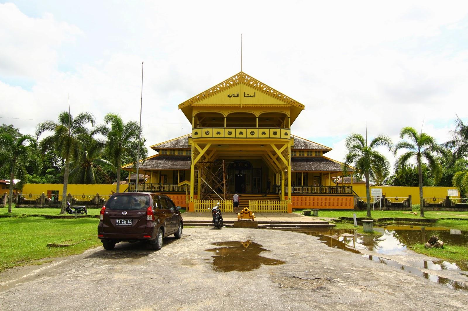 Istana Kadriyah, Pontianak