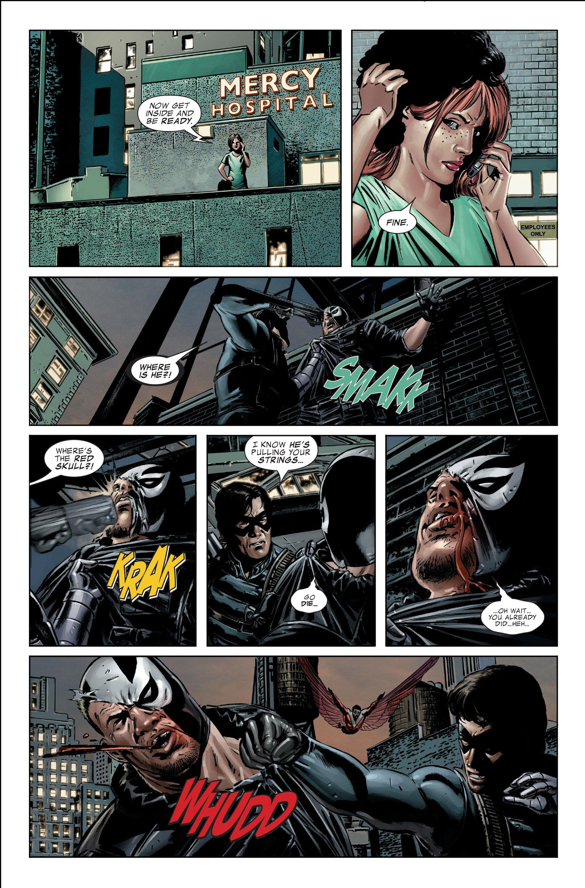 Captain America (2005) Issue #25 #25 - English 27