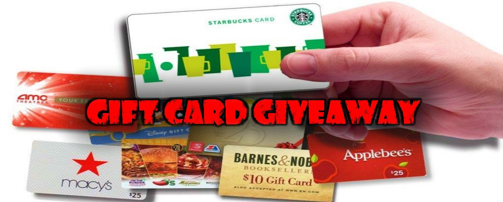 Gift Card Giveaway - Get Free Gift Cards Online!
