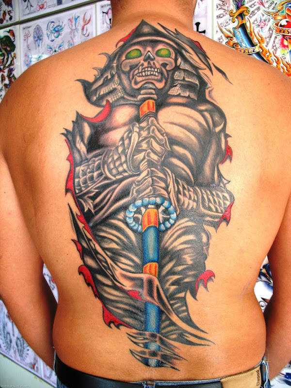 07 tattoos html tagged as japanese samurai tattoo design 10  title=