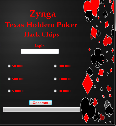 Texas holdem poker zynga hack