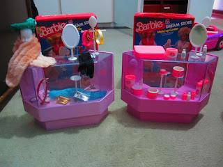 brinquedos anos 90 shopping barbie