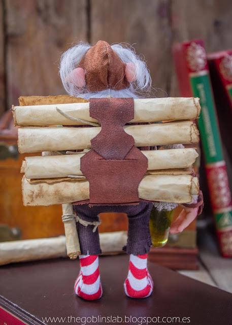 adopción criatura fantástica mágica duende elfo biblioteca