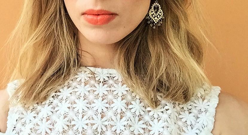 Topshop lipstick in Charmed #FOTD