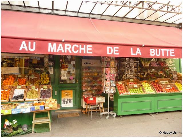 Montmartre - Au marché de la Butte
