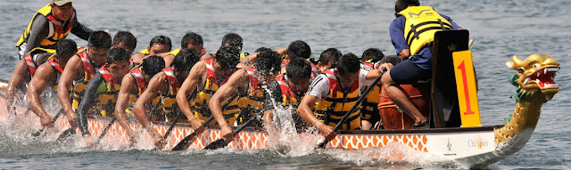Adventure Teambuilding - Dragon Boat Race