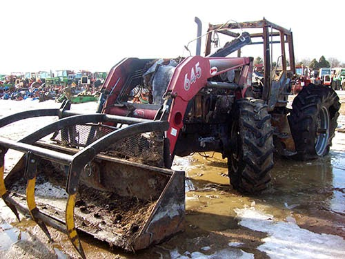 used Case IH 7130 tractor parts