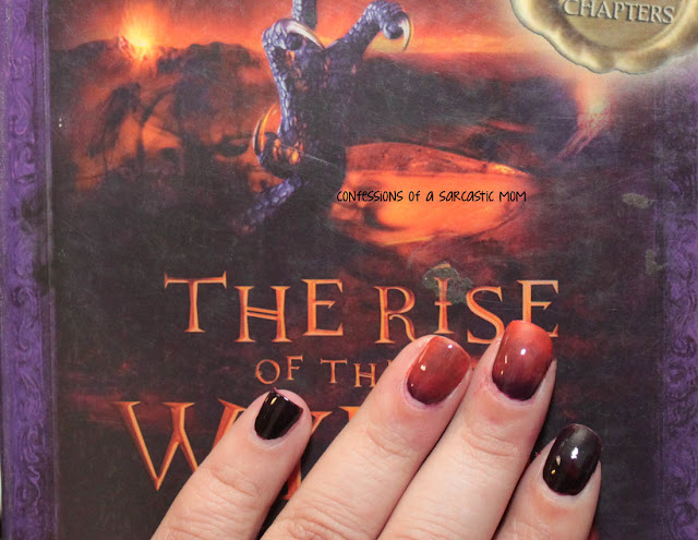 Inspired by a Book Mani - The Rise of the Wyrm Lord