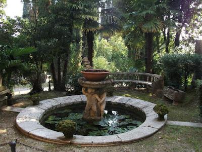 Vittoriale, Fontana Magnolie