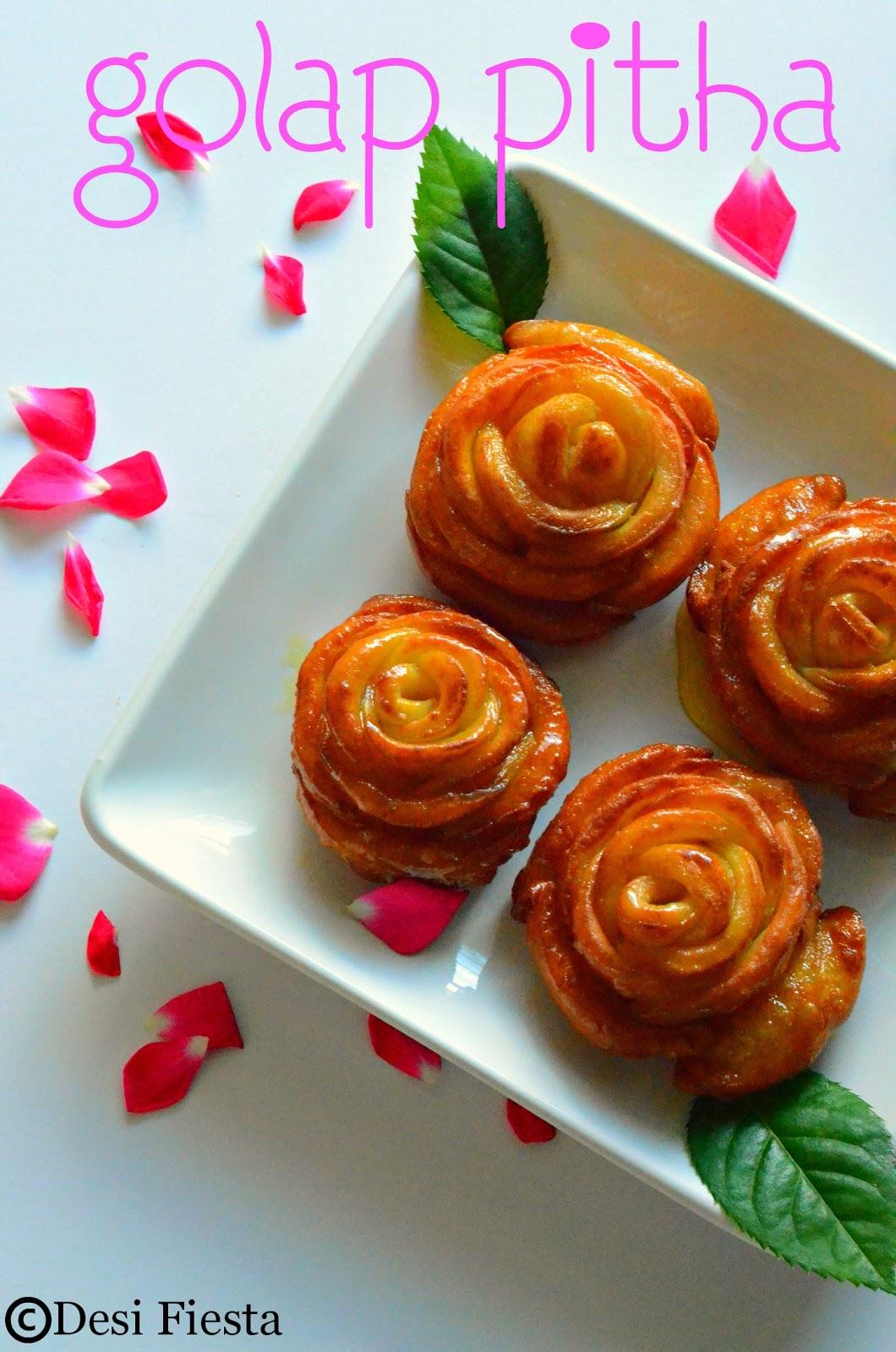 Varities of Pitha  recipe