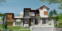 Floor Plan And Elevation Bn Architects - Kerala Home