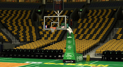 NBA 2K14 Boston Celtics Court Update