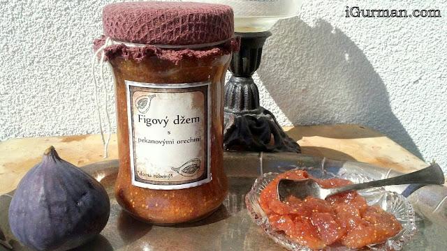Figový džem s pekanovými orechmi