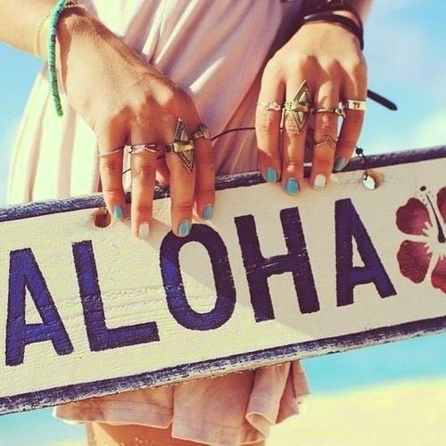 Aloha ♥