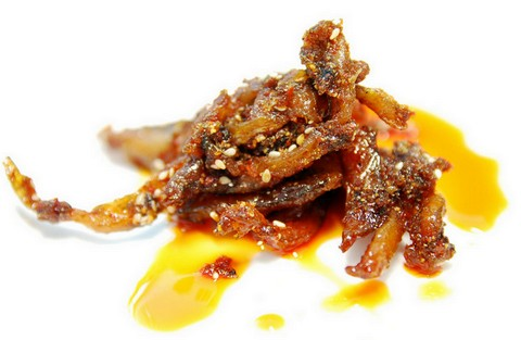 Fiery and peppery anchovy