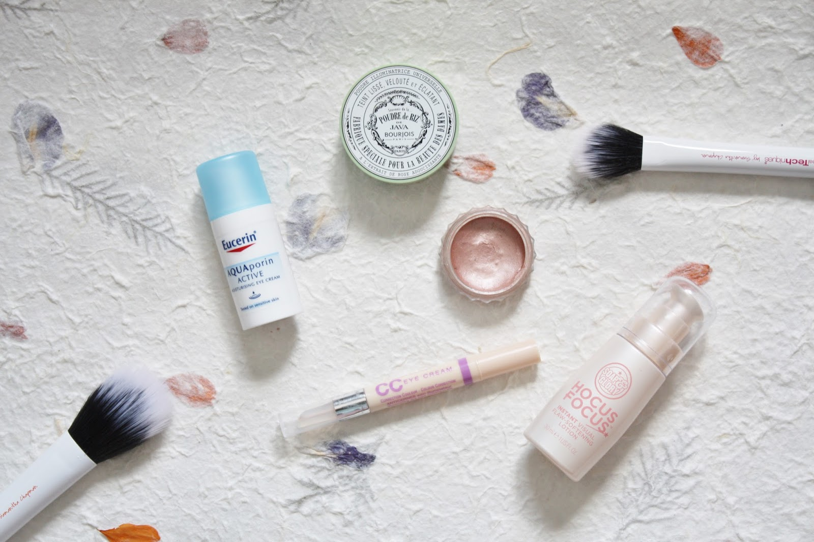 Eye Cream, Bourjois java rice powder, soap and glory hocus focus, bourjois cc eye cream, benefit cream shadow rsvp
