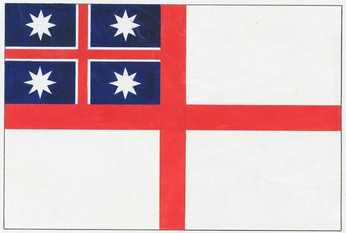 Image result for NZ  national flag union jack