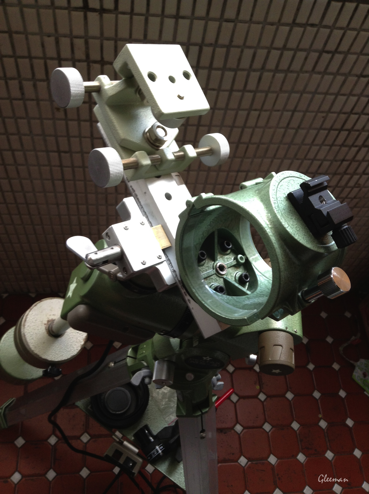 [Pentax MS-3赤道儀] 手動導星 manual guiding