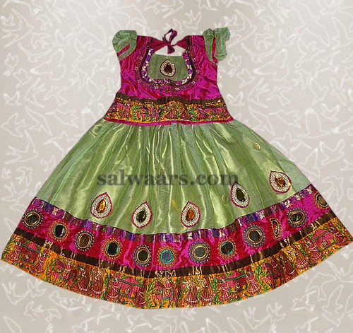 Art Work Light Green Lehenga