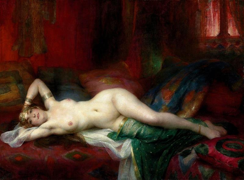 Odalisca (Henri Adrien Tanoux)