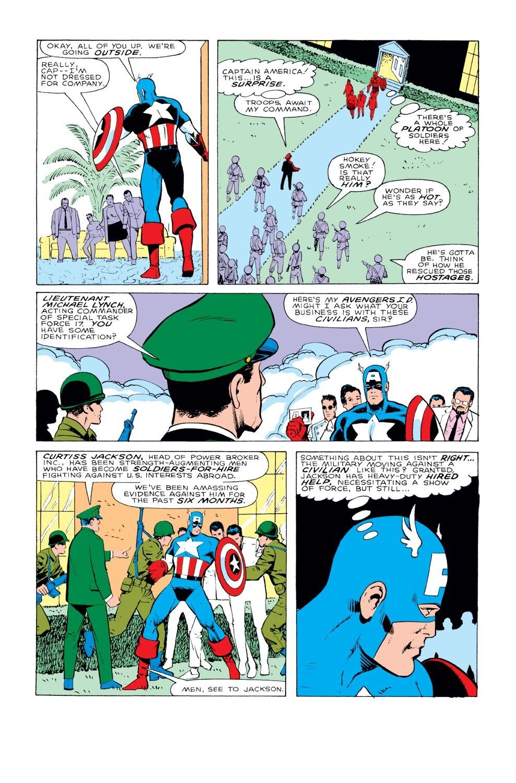 Captain America (1968) Issue #331 #260 - English 14